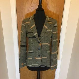 Etro wool blend blazer jacket